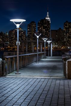 Lights of the boardwalk  by Braulio Cosme