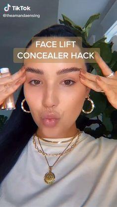 Contour Makeup, Skin Makeup, Fresh Makeup, Contouring, Cute Makeup, Gorgeous Makeup, Makeup Videos, Makeup Tips, Best Drugstore Concealer