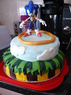 Marvelous Photo of Sonic Birthday Cake . Sonic Birthday Cake Sonic The Hedgehog Birthday Cake Cooking Sonic Birthday Cake, Sonic Cake, Birthday Cake Toppers, Wedding Cake Toppers, Birthday Cakes, Birthday Parties, Chocolate Drip, Mint Chocolate Chips, Chocolate Ganache