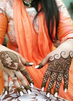 Latest ideas of mehndi or henna designs for ladies to wear nowadays. Our amazing trends of mehndi arts are really awesome for ladies to make their hands' look more attractive. You can see here our modern henna arts are really looking so cute and sexy. Dulhan Mehndi Designs, Latest Mehndi Designs, Mehndi Art, Henna Mehndi, Henna Art, Mehendi, Henna Designs, Arabic Henna, Modern Henna