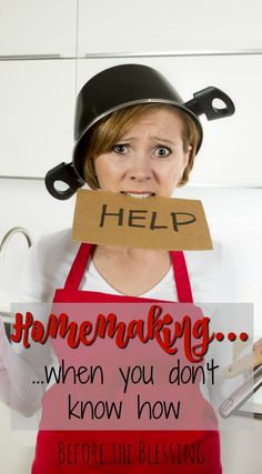 New brides, stay-at-home moms, and even seasoned veterans at homemaking alike will face some challenges when it comes to keeping the home… I Need Jesus, Christian Homemaking, Barrettes, Home Management, Stay At Home Mom, Asos, Joy And Happiness, Housekeeping, Good To Know