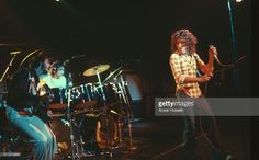 Foto di attualità : Guitarist Pete Townshend, drummer Keith Moon and...