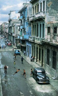 Havana, Cuba. This destruction and misery is what started with socialism and turned into communism
