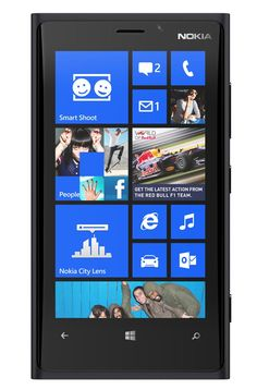 One of the first handsets shipping with Windows Phone 8, the big, beautiful Nokia Lumia 920 is the most powerful, versatile option available. But the phone itself is overgrown, and the platform has some growing to do. [4 out of 5 stars]
