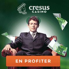 Loyalty Program  Play and get free cash!  At Cresus Casino we reward you for your loyalty. The more you play, the more you win!100% welcome bonus up to €100 Double your first deposit and discover our exciting slot machines with our 100% up to €100 welcome bonus.
