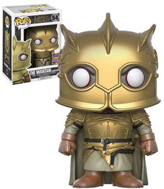 Auction Only!   Rare Funko 2017 Summer Convention Exclusive!   Funko Pop! Game Of Thrones #54 The Mountain (Armoured) - San Diego Comic Con (SDCC) 2017 Exclusive - New, Near Mint Condition.   #Funko #FunkoPop #GameOfThrones #TheMountain #SDCC #ComicCon #Collectibles
