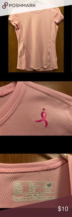 New Balance dri fit NWOT Size SMALL dri fit new balance  (Susan G Komen breast cancer awareness) Tops Tees - Short Sleeve