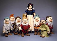 Snow White & the Seven Dwarfs Date of Release: 1989-93.  Edition Notes: Ltd. Ed. 1000.  NOTE: 50 specially-accessorized sets of Snow White & the Seven Dwarfs included wood & metal picks in the Dwarfs' hands. These were available exclusively through the Disney Catalog