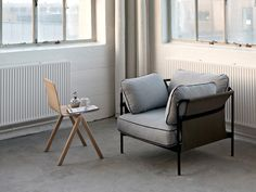 The Can sofa collection, by Ronan and Erwan Bouroullec, goes beyond the usual practical, elegant, comfortable, yet complicated, design to create a simple, relaxed sofa with universal appeal.