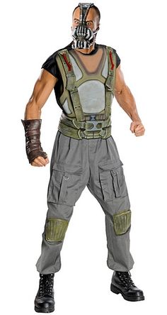 Bane Costume Batman The Dark Knight Halloween & Fancy Dress Party Costumes Jokers Party Suplies