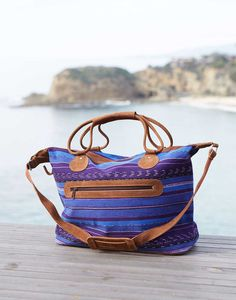Our colorful Fiji Overnight Bag is perfect for your getaway weekend.