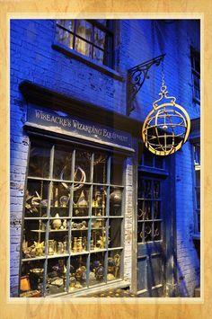 Estúdio Brigit - Encadernação Artesanal e Artística - A Viagem (80): Harry Potter - Warner Bros.(The Trip)