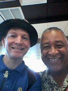 """Me With Ozzie Smith """" THE WIZ """" Former St.Louis Cardinals Player!!!"""