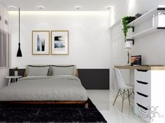 Discover recipes, home ideas, style inspiration and other ideas to try. Room Ideas Bedroom, Home Bedroom, Modern Apartment Design, Modern Minimalist Living Room, Aesthetic Room Decor, Living Room Designs, Interior Design, Furniture, Home Decor