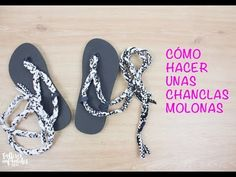 CÓMO HACER UNAS SANDALIAS PLAYERAS CON TRAPILLO - YouTube Flip Flops, Youtube, Diy, Shoes, Fashion, How To Make, Slipper, Sandals, Craft Studios