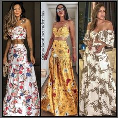 Top Cropped, Inspire, Outfits, Inspiration, Dresses, Closet, Fashion, Summer Skirts, Full Skirts
