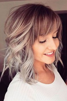 18 Short Curly Haircuts with Bangs 2017 | The Best Short Hairstyles for Women 2017 - 2018