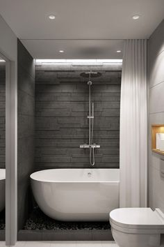 Luxury Bathroom Master Baths Dark Wood is categorically important for your home. Whether you pick the Luxury Bathroom Master Baths Rustic or Bathroom Ideas Apartment Design, you will make the best Luxury Master Bathroom Ideas Decor for your own life. Bathroom Design Tool, Bathroom Layout, Bathroom Interior Design, Bathroom Ideas, Bathroom Designs, Bath Design, Bathtub Ideas, Bathroom Storage, Budget Bathroom