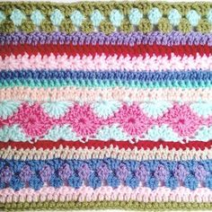 Here is the finished pattern for the as-we-go stripey blanket that was written up during not your average crochet's very first crochet along! I hope you enjoy it! (Click here for the PDF ve…