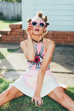 oystermag:  Beauty One On One: Caroline @ Priscillas