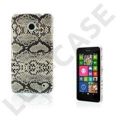 Kilpi (Svart) Nokia Lumia 630 / 635 Hard Plast Deksel