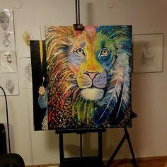 Lionpainting