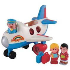 Buy Early Learning Centre Happyland Fly and Go Jumbo Jet at Argos.co.uk - Your Online Shop for Toy planes, Character playset and dolls.