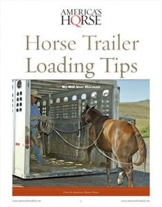 It's easy to lose your temper when teaching a horse to load in a trailer. Unfortunately, getting impatient is the worst thing you can do.    The late Bill Van Norman insists that you need to take your time and keep your temper when teaching your horse to trailer load.    Bill offers his valuable advice in AQHA's FREE report, Horse Trailer Loading Tips. americashorsedail...