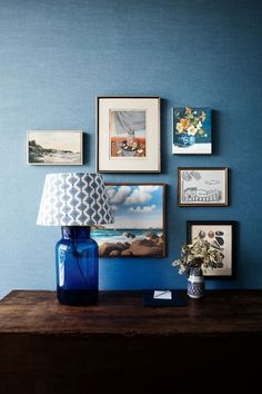 """Designer Anna Spiro on getting the Halcyon House look and the importance of customisation: What is your tip for creating an effortless yet exciting looking gallery wall at home?""""Just mix all sorts of paintings and prints together and make sure you have a really good mix of sizes and shapes as that always makes for an interesting cluster wall."""""""