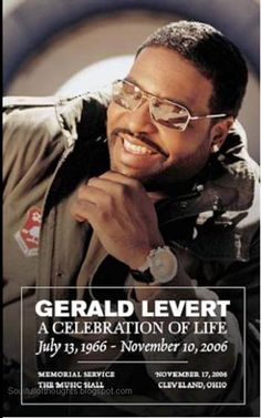 gerald black personals Gerald levert, who died in 2006, would have been 44 years old today gerald was a founding member of and trio levert, which included brother sean levert and marc gordon.