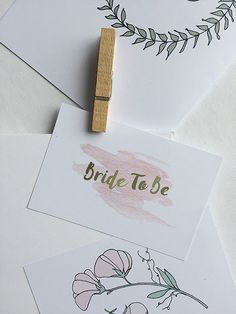 Elina Dahl, logotype for Bride To Be 2017.