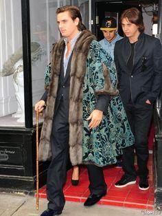 Scott Disick's Royal Coat