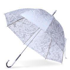 Coquette/ビニールアンブレラ バンビ シルバー 5460yen もう使い捨てない!大人の女性のためのビニール傘