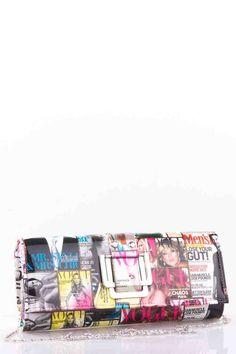 Magazine Print Clutch Bag. £12.99 Print Magazine, Clutch Bag, Shop Now, Boutique, Bags, Accessories, Handbags, Clutch Bags, Dime Bags