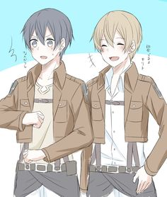 Eugeo and Kirito have switched worlds. Anime Elf, Sao Anime, Anime Guys, Sword Art Online Wallpaper, Kirito Asuna, Sword Art Online Kirito, Anime Crossover, Fan Art, Attack On Titan Anime