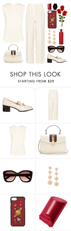"""Loafers"" by sukia ❤ liked on Polyvore featuring Gucci, The Row, Dolce&Gabbana, Bobbi Brown Cosmetics and Cultural Intrigue"