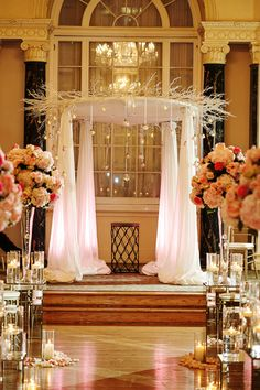 Winter Wonderland Inspired Chuppah