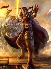 Valenthyne Farfalla -  was a noted male half-Bothan Jedi Master and Jedi Lord who served the Jedi Order during the New Sith Wars.