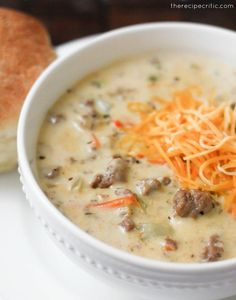 Cheeseburger Soup.