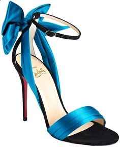 Christian Louboutins Vampanodo. For when you cant just wear diamonds. Via Diamonds in the Library.