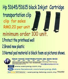 Hp 51645/51615 black Inkjet  Cartridge transportation clip Stock Clearance, Toner Cartridge, Picture Show, Transportation, The Unit, Black, Color, Black People, Colour