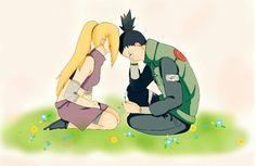 Shikamaru and Ino. / ShikaIno