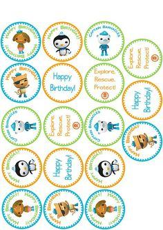 Cupcake Labels Printable