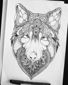 Done!    #wolf #wolfdrawing #zentagle #doodle #pattern #illustration #art #drawing #ink #inkillustration #arts_help #arts #artist #creativeempire #talentedpeopleinc #artconquest #worldofpencils #bestartdaily #nawden #artofdrawing #art_spotlight #artistic.shouts by aydaelhajoui