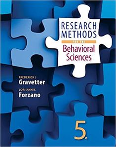 Research Methods for the Behavioral Sciences 5th Edition by Frederick J Gravetter  ISBN-13:9781305104136 (978-1-305-10413-6)ISBN-10:1305104137 (1-305-10413-7) Psychology Textbook, Apa Guidelines, Behavioral Science, Research Methods, Ebook Pdf, The Book, Physics, Texts, Coding