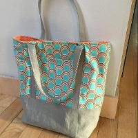 Sewing : Lined Tote