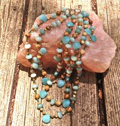 HUGE SPRING SALE Amazonite and Jasper by WallpaperGirlCabinet, $65.00