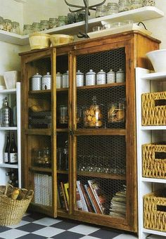 Fabulous French Inspired Display and Storage Cabinet