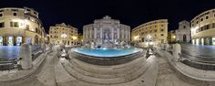 Rome by night - alone at the Trevi