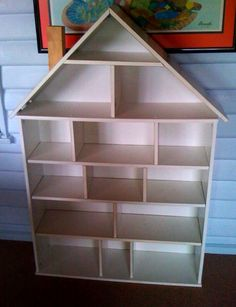 How-to: Ikea Billy Bookcase Dollhouse